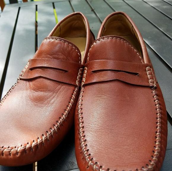 af6abd5e7d5 Robert Zur leather penny loafer. M 5b144f86aa57198164348d4d